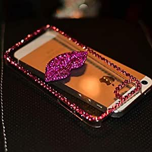 LCJ iPhone 6 compatible Diamond Look Jewel Covered Cases , Pink
