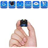 Cop Cams Zohulu 1080P Mini Spy Hidden Camera As Seen On TV, Smallest Wireless Body Cams Action Camera, Convert Security Nanny Cam with Night Vision and Motion Detection, Built-in Battery, No WiFi Need