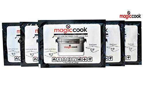 Magic Cook 50g Refill Heat Packs for Lunch Box x (Pack of 5)