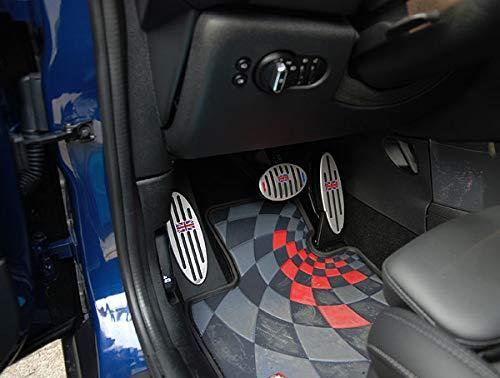 HDX Poggiapiedi per Freno a Gas e Frizione per Mini Cooper F54 F55 F56 F57 F60 R55 R56 R57 R58 R59 R60 R61 Hardtop Clubman Hatchback Covertible Roadster Countryman