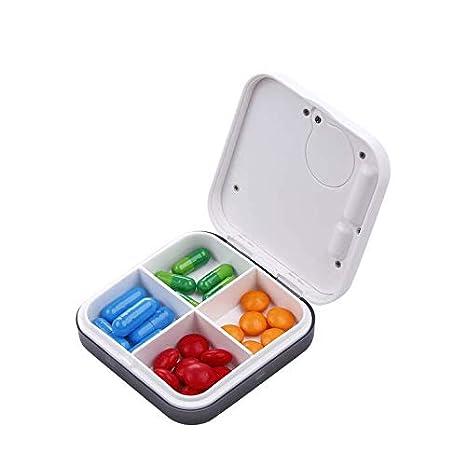 Vakiko Caja de Caja Diaria de píldoras con Pantalla Digital