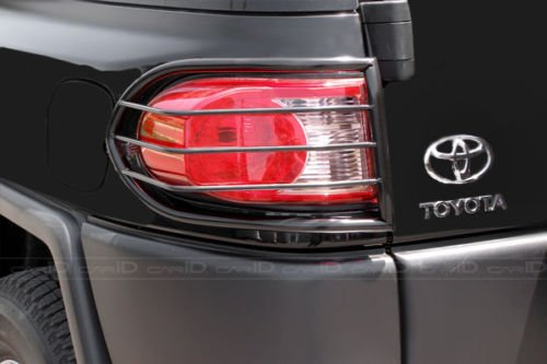 Steelcraft 33300 07-14 TOYOTA FJ CRUISER TLG BLK Tail Light Guards