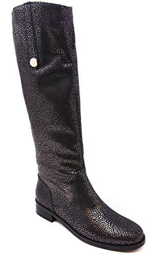 US BOBERCK Riding 7 Amelie Boot Collection Silver Women's Metallic qS0qr