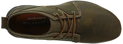 Skechers Artifact lutador, Men's Low-Top Brown (Cdb)