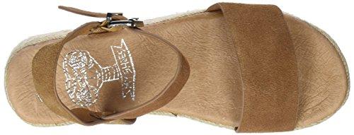 Sandalias Mujer Marrón Cue Plataforma COOLWAY para Mini con Tn6wF8A