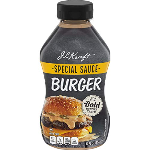 J.L. Kraft Burger Sauce, 12 fl oz