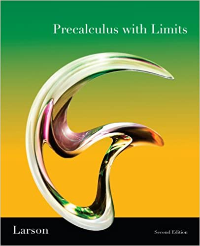 Precalculus with limits homework help