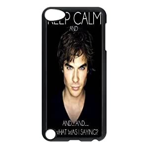 T-TGL(RQ) Custom Brand New Phone Case for Ipod Touch 5 Personalized Ian Somerhalder case