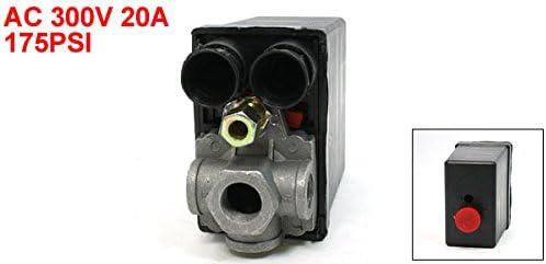 20 A 4 Port 175 Psi 12 Bar Compressor Pressure Switch Control Valve Baumarkt