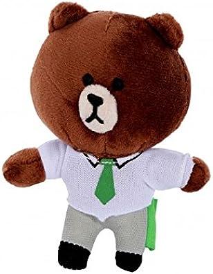 Peluche Llavero line brown del corbata Disfraz de oso: Amazon.es ...