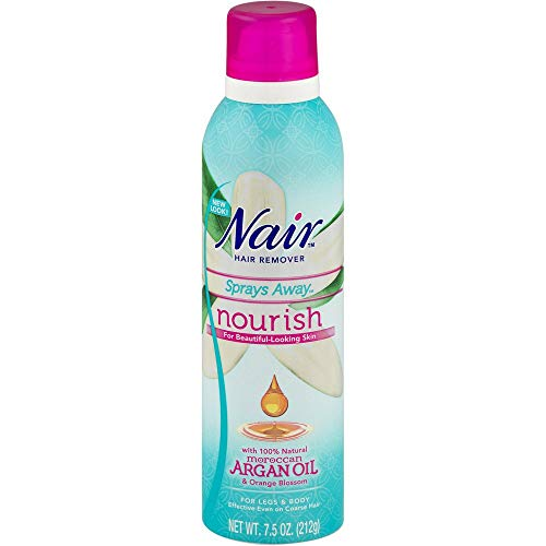 - Nair Sprays Away, Moroccan Argan Oil, 7.5 Oz