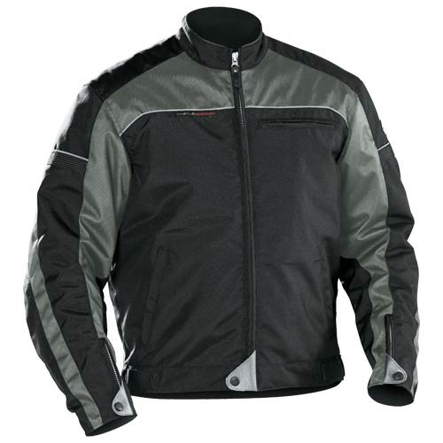 - Castle Escape Men's Motorcycle Jacket - Gray - XLG