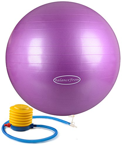 BalanceFrom Anti Burst Resistant Fitness Purple