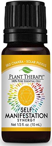 Plant Therapy Chakra 3 Self Manifestation Synergy (Solar Plexus) 10 mL (1/3 oz) 100% Pure, Undiluted, Therapeutic Grade (Sun Center Stone Solar Of The)