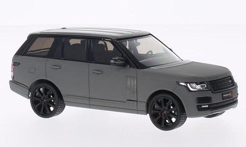 Land Rover Range Rover, matt-grey/black, 2013, Model Car, Ready-made, Premium X 1:43