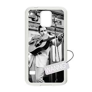 Johnny Cash Samsung Galaxy S5 I9600 Custom Case, Johnny Cash DIY Case for Samsung Galaxy S5 I9600 at WANNG