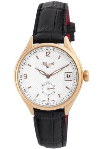 Kienzle Women's V83331230043 1822 Rose Gold PVD Genuine Leather Watch