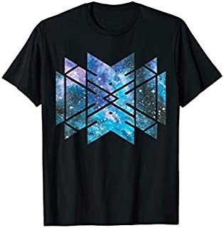Sacred Geometry Cosmic Galaxy Universe Outer Space Gift T-shirt | Size S - 5XL