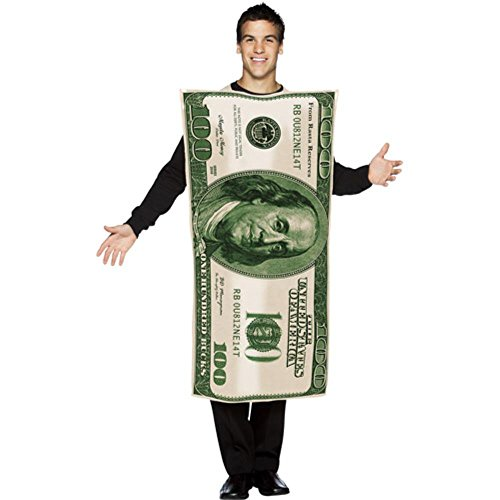 One Hundred Dollar Bill Adult Costume]()