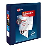 """Avery Heavy Duty View 3 Ring Binder, 2"""" One Touch"""