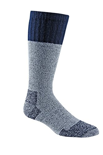 Fox River Outdoor Wick Dry Outlander Heavyweight Thermal Wool Socks, Large, Navy (Mens Boot Heavyweight Sock)