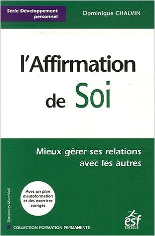 En ligne téléchargement L'Affirmation de Soi pdf, epub ebook