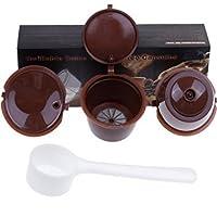 Paide [3pcs] Cápsulas de café recargables y reutilizables - Dolce Gusto