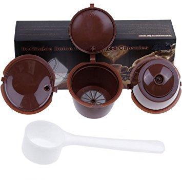 Paide [3pcs] Cápsulas de café recargables y reutilizables - Dolce ...