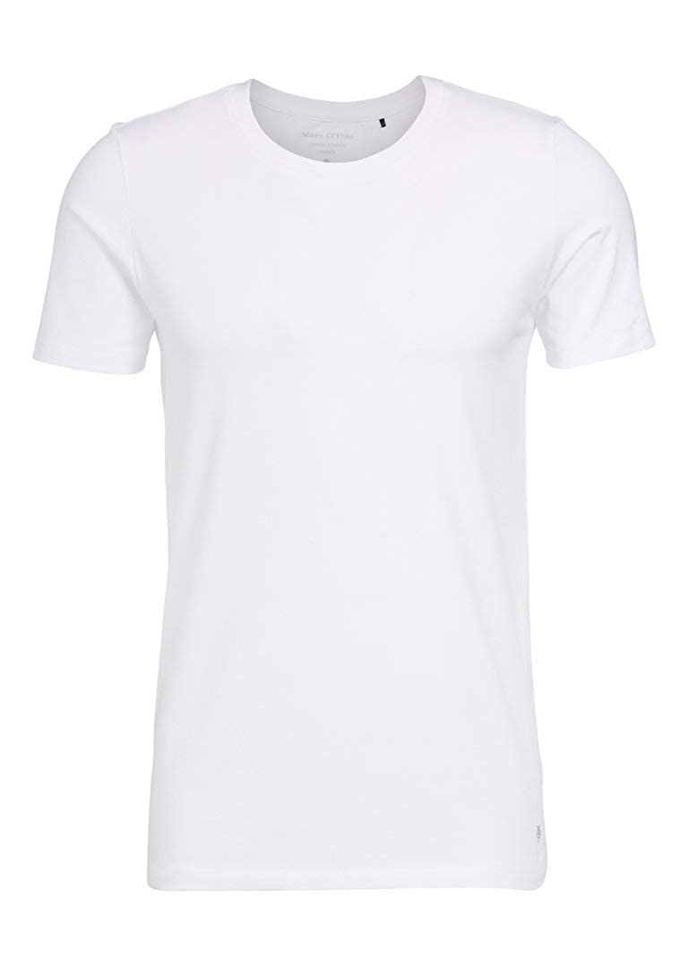 blanc XXL Marc O Polo Cotton Stretch Crew Neck Shirt Lot de 4
