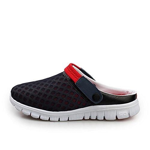 Bleu Sandales sur Mules Summer Talon Les Plage Shoes Glisser air Rouge 2018 Mens sheos de Wenquan Plein Femmes Tendance Les Plat Hommes Les en zwxOZBnEq