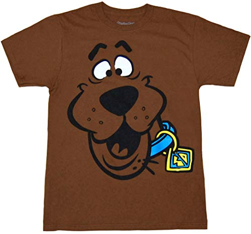 Scooby Doo Face Adult -