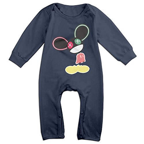 Mouse Trap Costume For Baby (Vinda Cute The Mouse Is In Da House Romper For Newborn Baby Navy Size 12 Months)
