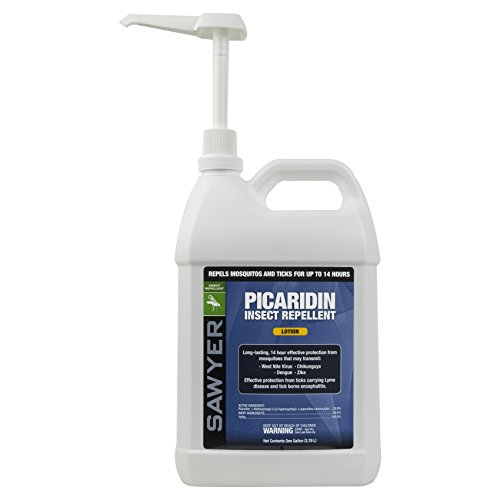412Xzocd%2B%2BL - Sawyer Products SP569 Premium Insect Repellent with 20% Picaridin, Lotion Dispenser, 1-Gallon