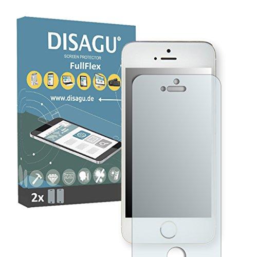 2 x Disagu FullFlex pellicola protettiva, pellicola per Apple iPhone 5C pellicola proteggi-schermo