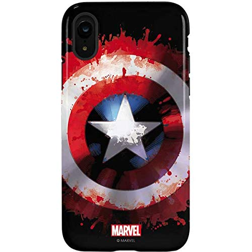 sale retailer 07fb1 9e204 Amazon.com: Captain America iPhone XR Case - Marvel/Disney | Skinit ...