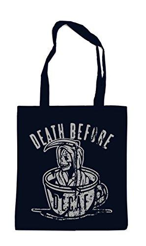 Death Before Decaf Bag Black Certified Freak