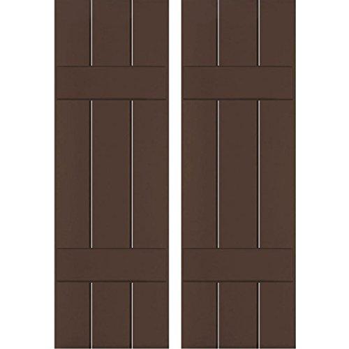 Ekena Millwork CWB12X033TBC Exterior Three Board
