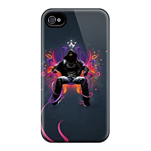 Fashion Design Hard Case Cover/ Rir6639mIsp Protector For Iphone 4/4s