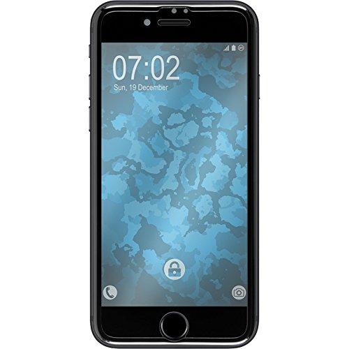 1 x Apple iPhone 7 / 8 Pellicola Protettiva chiaro Shockproof nero - PhoneNatic Pellicole Protettive