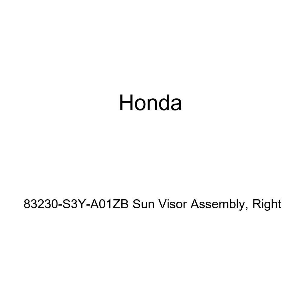 Right Honda Genuine 83230-S3Y-A01ZB Sun Visor Assembly