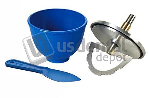 VAC-U-MIXER #6785 Flexible Vac-U-Mixer 350g (Lid & Paddle Assembly Inc 045-29352 Us Dental Depot