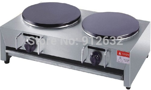 Hanchen Two-head Commercial Crepe Maker/Gas Pancake Maker