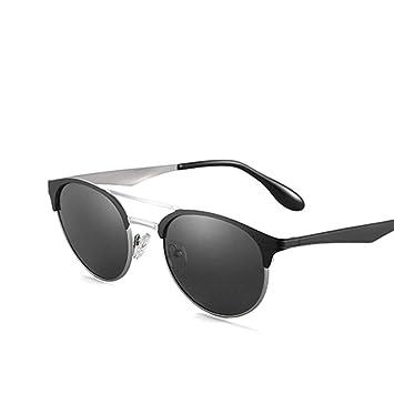 QZHE Gafas de sol Doble Puente Gafas De Sol Unisex para ...