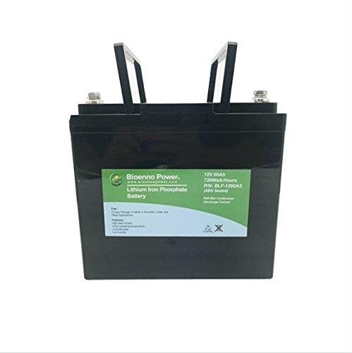 Bioenno Power 12V, 60Ah LFP Battery (ABS, BLF-1260AS)