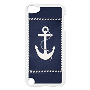 Custom Anchor Design Plastic Case for Ipod Touch 5 5th Generation