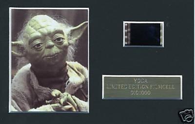 Star Wars YODA Film Cell m, edizione limitata
