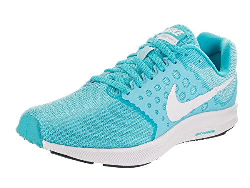 afe798ac99da Galleon - NIKE Women s Downshifter 7 Still Blue White Chlorine Blue Running  Shoe 9 Women US