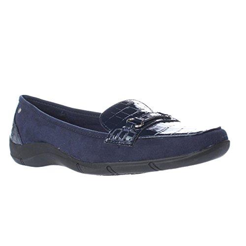 Square Navy Loafers Jazmin Karen Scott Karen Scott Womens Toe gTUqw4