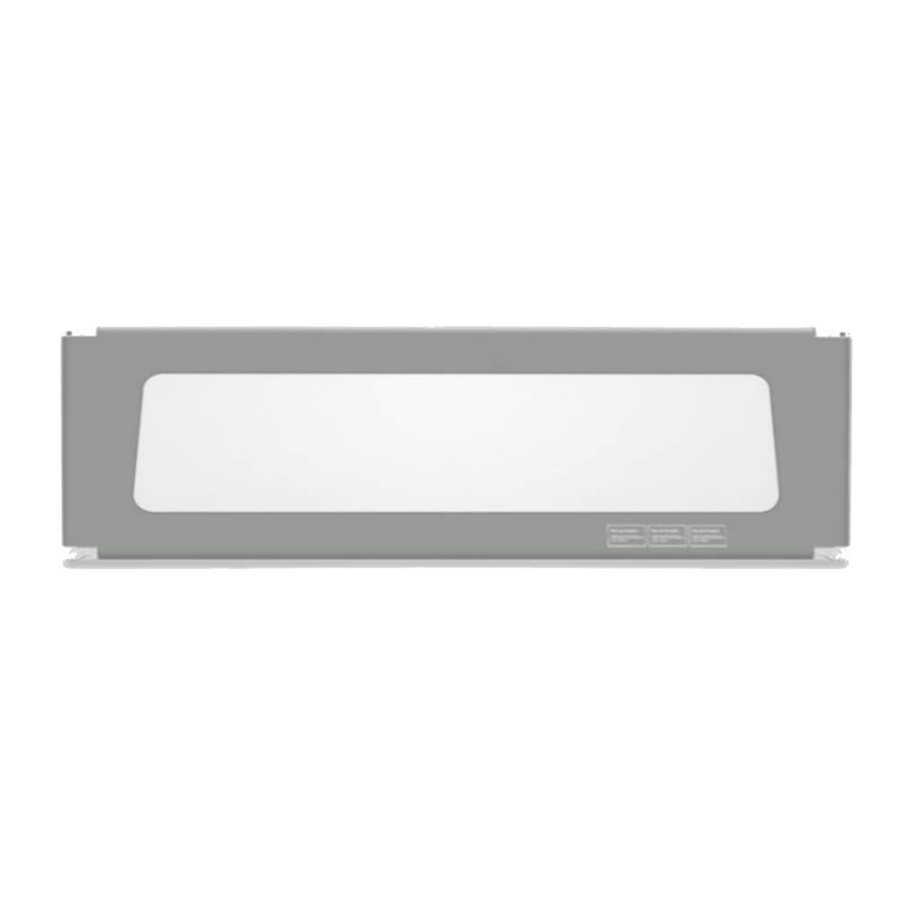 LHA ベッドガードフェンス 垂直昇降バッフル、調節可能なベッドの手すり、超高層ベッドの手すり、単層のガードレール、ダブルバックルチャイルドロック120cm / 150cm / 180cm / 200cm / 220cm (色 : Gray, サイズ さいず : L-120cm) L-120cm Gray B07L3D6LMH