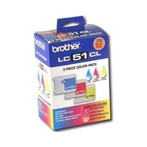 BRTLC513PKS - Brother LC513PKS Tri-Color Ink Cartridge
